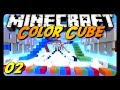 Minecraft - COLOR CUBE! - Team Game - w/ AntVenom & Friends! (Mini-Game)
