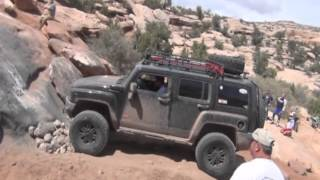 Hummers Off Road in Moab Part 5