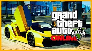 "GTA 5 Online: GOLD ZENTORNO ""Neon Gold"" Paint Job! (GTA V)"