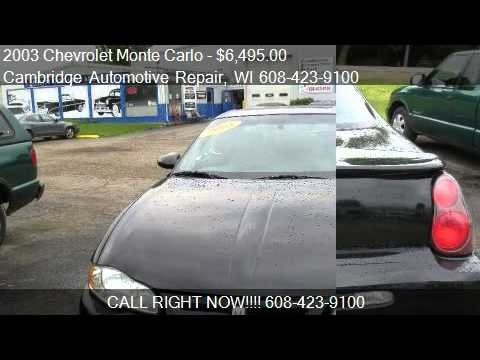 2003 Chevrolet Monte Carlo SS - for sale in Cambridge, WI 53