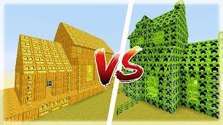 Thử Thách Làm Nhà CREEPER Trong Minecraft