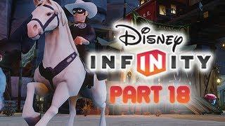 Disney Infinity Gameplay Walkthrough Part 18 LONE RANGER
