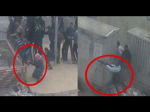 الرصاص الحي في مظاهرات مصر