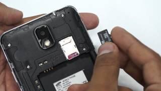 Samsung Galaxy Note 3 sim kart & MicroSD kart nasıl takılır?