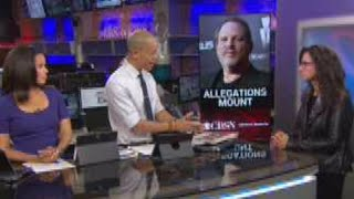 A-list stars join Harvey Weinstein accusers