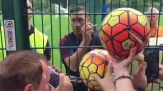 Roma: a Pinzolo tutti pazzi per Totti