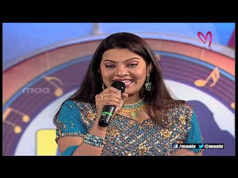 Super Singer 1 Episode 35 : Geetha Madhuri Special Song ( Nenani Neevani )