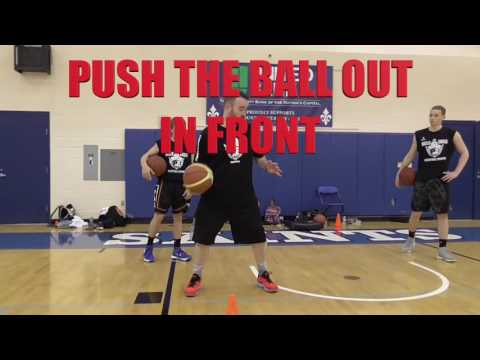 Drills and Skills Basketball - Quick Cross Dribble