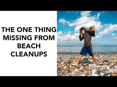 One Thing Missing From Beach Clean Ups