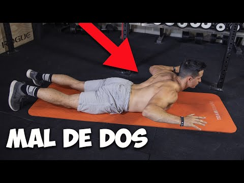Soulager douleurs de dos avec 4 exercices !