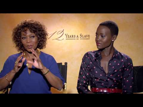 12 Years a Slave: Lupita Nyong'o & Alfre Woodard Official Movie Interview