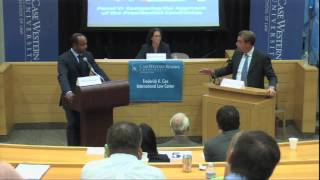 """Presidential Power, Foreign Affairs, and the 2012 Election"" - Panel V"