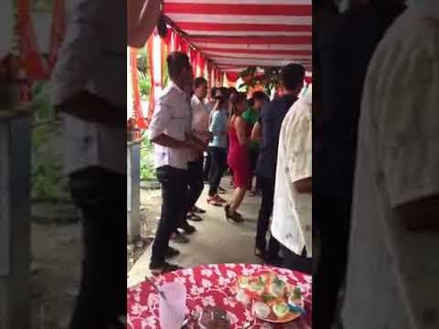 nhạc khmer đám cưới tại cầu kè trà vinh nhảy rất đông vui