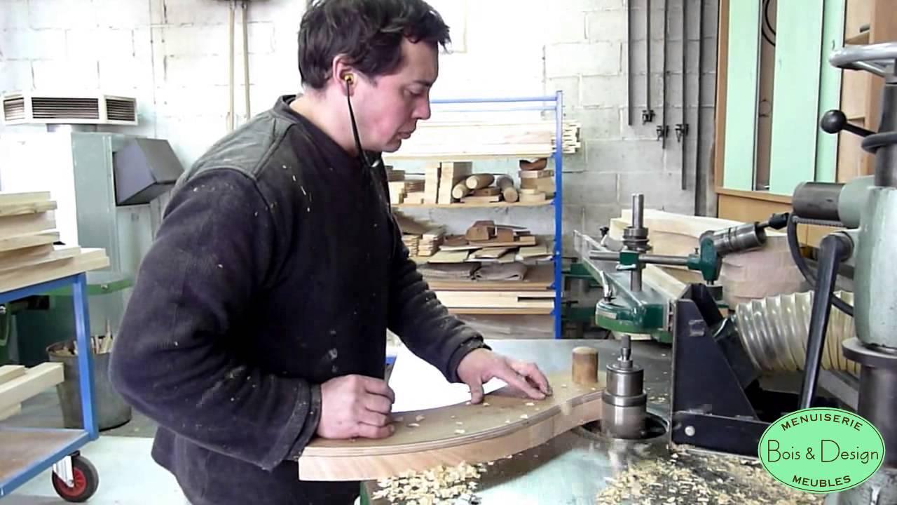 bois design fabrication d 39 un banc de jardin youtube