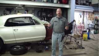 Modifications To The Mercury Cougar Front Suspension 1968