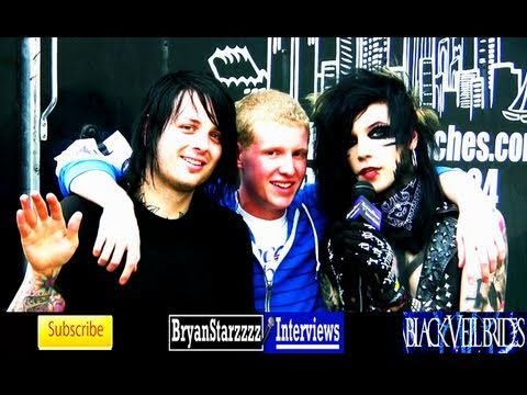 Black Veil Brides Interview #2 Andy Biersack &amp; Matt Good UNCUT 2011