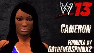 WWE '13 Cameron CAW Formula By BotheredSphinx2