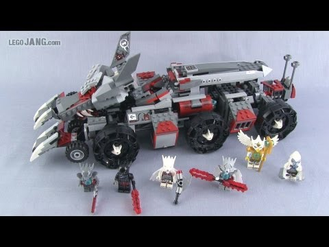 LEGO Chima Worriz's Combat Lair 70009 set review!
