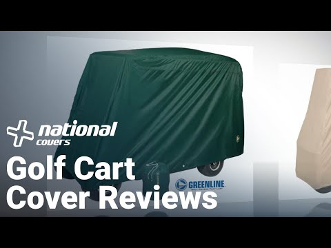 Golf Cart Cover Reviews,  Greenline Storage Covers Manufactured By Eev