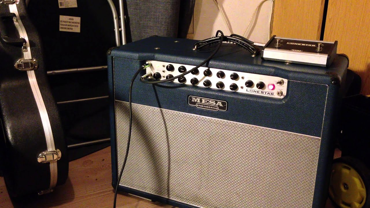 Mesa boogie lonestar 2x12 sonido limpio youtube for Mesa boogie lonestar 2x12