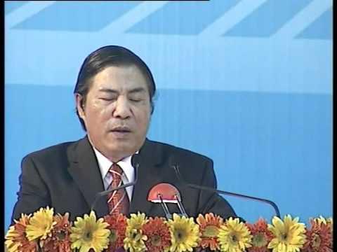 Bí thư Nguyễn Bá Thanh nói chuyện với 4500 cán bộ -part 1