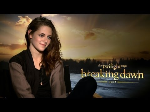 'Breaking Dawn 2' Kristen Stewart Interview