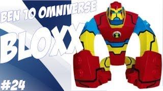 Review Do Boneco Bloxx-Ben10 Omniverse