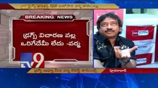 RGV sensational comments on Drugs Case..