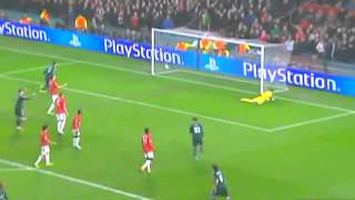 Manchester United vs Real Madrid 1   2 Resumen y Goles Champions League 050313