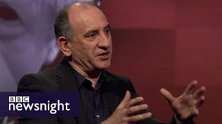 Armando Iannucci: 'Are you saying I'm responsible for Donald Trump?!' - BBC Newsnight
