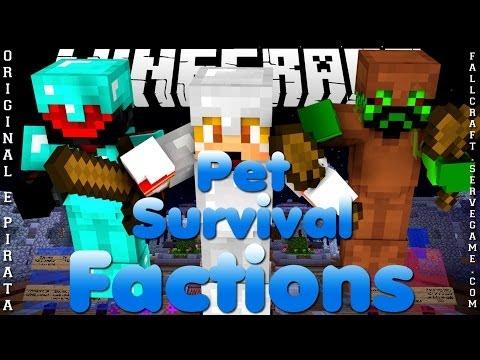 Divulgação de Server Minecraft 1.7.8/1.7.9 Factions, Survival e PETs