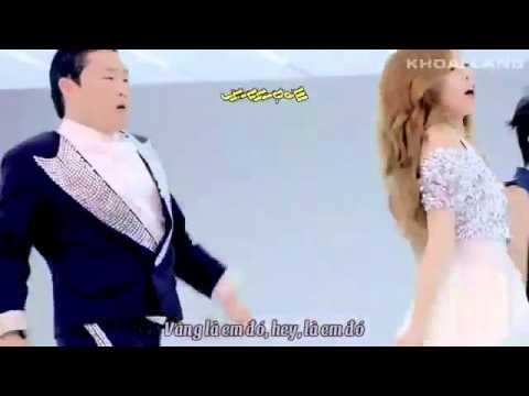 Phụ đề(vietsub) bài hát Gangnam Style Ver - YouTube.FLV