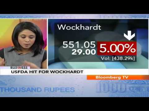 In Business - USFDA Hit For Wockhardt