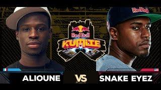 Red Bull Kumite 2016 : Alioune vs. Snake Eyez - Losers Round 1