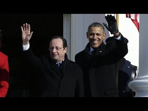 Hollande and Obama confirm strong Franco-US friendship