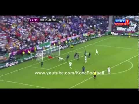 UEFA Euro 2012: France vs England 1-1 All Goals Full Highlights 11/06/2012