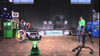 2014 NFR - Allen Bach & Clay Tryan - Smarty Roping Dummies