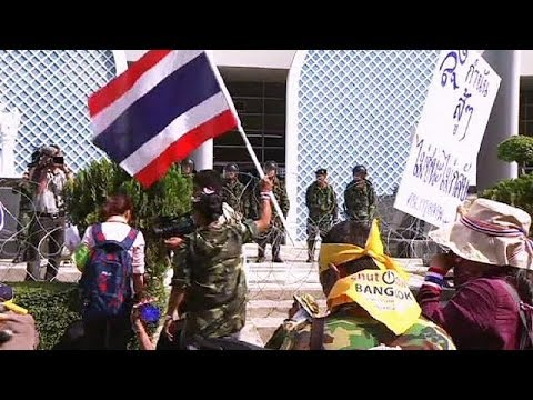 Protesters continue to rally in Thailand despite state of emergency - no comment