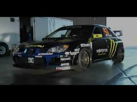 Ken Blok Gymkhana Practice Subaru
