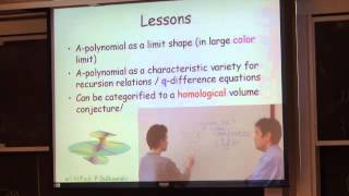 Sergei Gukov: What the A-polynomial knows about Khovanov homology