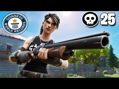 25 Kill *FORTNITE 2 SOLO SQUAD WORLD RECORD?* | Controller On Pc | Fortnite Chapter 2/Season 11