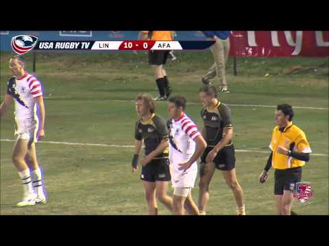 2013 USA Rugby College 7s National Championship: LWD vs  Air Force