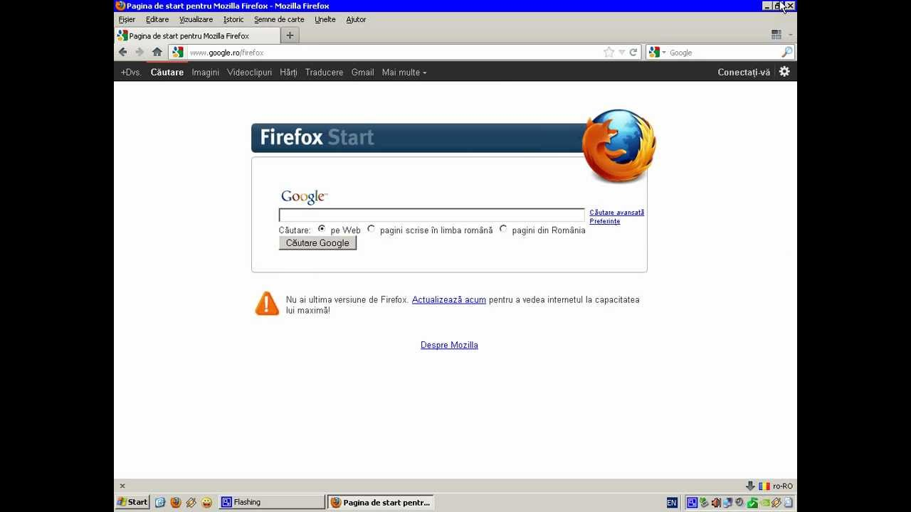 how to change default google account in firefox