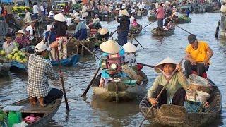 Mekong Floating Markets , Ho Chi Minh ,Vietnam