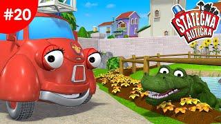 Statočné autíčka - Hladný krokodíl