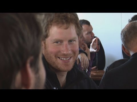 Prince Harry forgets cameras in Antarctica trek briefing