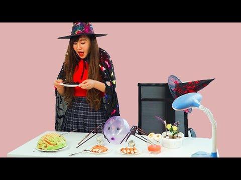 FUNNY DIY HALLOWEEN PRANK WARS! DIY Halloween Food Hacks Pranks | Halloween Recipes and Decorations