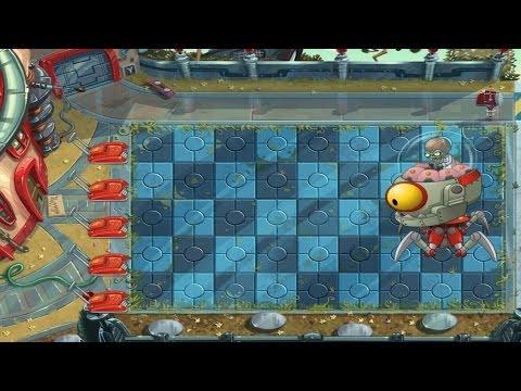 Plants vs Zombies 2: Far Future Day 25 - Final Boss Fight