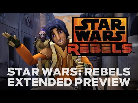 Star Wars Rebels Extended Preview, Star Wars Rebels, set between Episodes III and IV of the Star Wars saga, will premiere in October 2014 with a one-hour special telecast on Disney Channel.