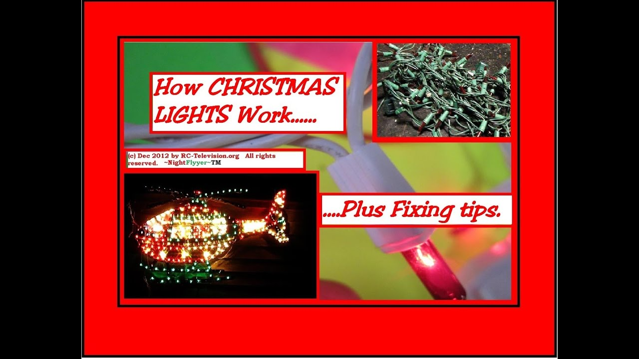 youtube how to fix christmas lights